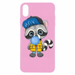 Чехол для iPhone X/Xs Little raccoon