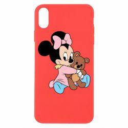 Чохол для iPhone X/Xs Minnie And Bear