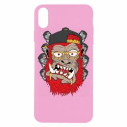 Чехол для iPhone X/Xs Monkey Style