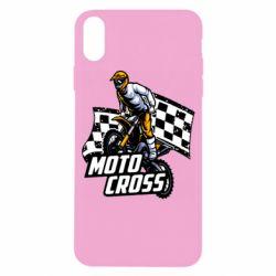 Чехол для iPhone X/Xs Motocross