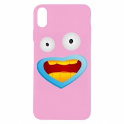 Чохол для iPhone X/Xs Mouth And Eyes