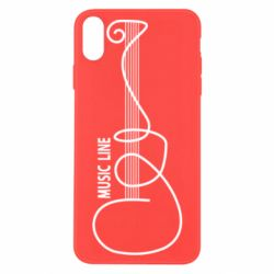 Чохол для iPhone X/Xs MUSIC LINE