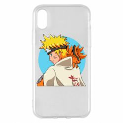 Чохол для iPhone X/Xs Naruto Uzumaki Hokage