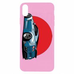Чехол для iPhone X/Xs Nissan GR-R Japan