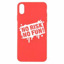 Чохол для iPhone X/Xs No Risk No Fun