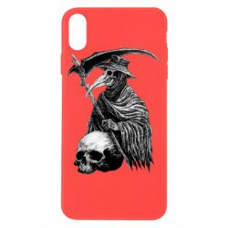Чехол для iPhone X/Xs Plague Doctor graphic arts