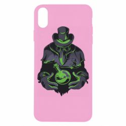 Чехол для iPhone X/Xs Plague Doctor