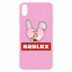 Чехол для iPhone X/Xs Roblox Bunny Girl Skin
