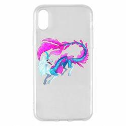 Чохол для iPhone X/Xs Sisu Water Dragon