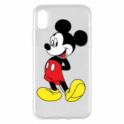 Чехол для iPhone X/Xs Smiling Mickey