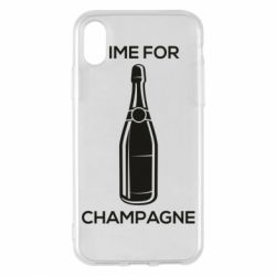 Чохол для iPhone X/Xs Time for champagne