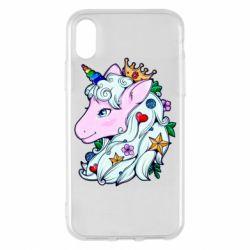 Чохол для iPhone X/Xs Unicorn Princess