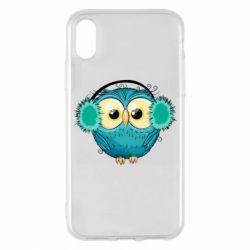 Чехол для iPhone X/Xs Winter owl