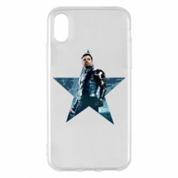 Чохол для iPhone X/Xs Winter Soldier Star