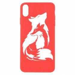 Чехол для iPhone X/Xs Wolf And Fox