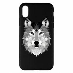 Чохол для iPhone X/Xs Wolf Art