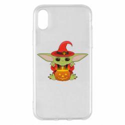 Чохол для iPhone X/Xs Yoda conjures
