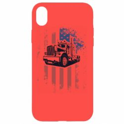 Чехол для iPhone XR American Truck
