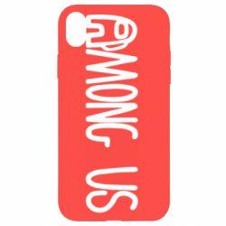 Чохол для iPhone XR Among Us Logo
