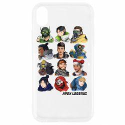 Чохол для iPhone XR Apex legends heroes