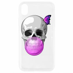 Чохол для iPhone XR Butterfly on the skull