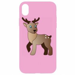Чехол для iPhone XR Cartoon deer