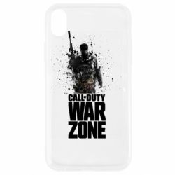 Чехол для iPhone XR COD Warzone Splash