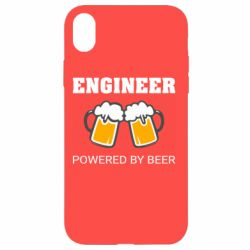 Чохол для iPhone XR Engineer Powered By Beer