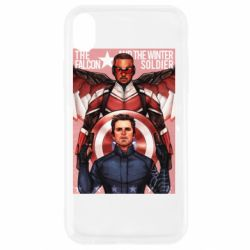 Чохол для iPhone XR Falcon and the Winter Soldier Art