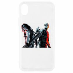 Чохол для iPhone XR Falcon and Winter Soldier