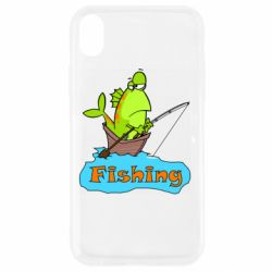 Чехол для iPhone XR Fish Fishing