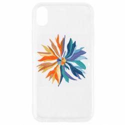 Чохол для iPhone XR Flower coat of arms of Ukraine