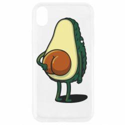 Чохол для iPhone XR Funny avocado