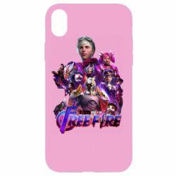 Чехол для iPhone XR Garena free avengers