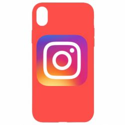 Чохол для iPhone XR Instagram Logo Gradient