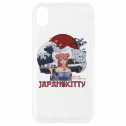 Чохол для iPhone XR Japan Kitty