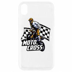 Чехол для iPhone XR Motocross