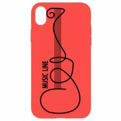 Чохол для iPhone XR MUSIC LINE