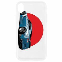 Чехол для iPhone XR Nissan GR-R Japan