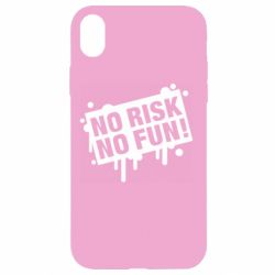 Чохол для iPhone XR No Risk No Fun