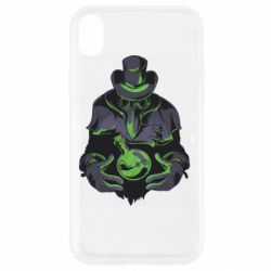 Чехол для iPhone XR Plague Doctor