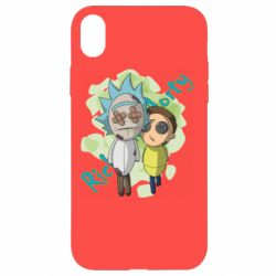 Чохол для iPhone XR Rick and Morty voodoo doll