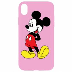 Чехол для iPhone XR Smiling Mickey