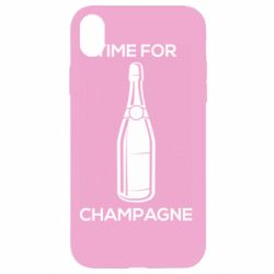 Чохол для iPhone XR Time for champagne
