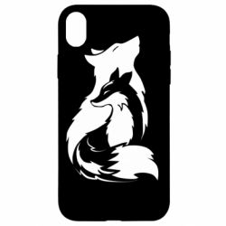 Чехол для iPhone XR Wolf And Fox