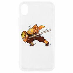Чохол для iPhone XR Zenitsu Demon Slayer