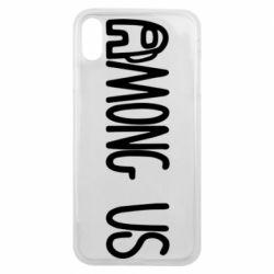 Чохол для iPhone Xs Max Among Us Logo