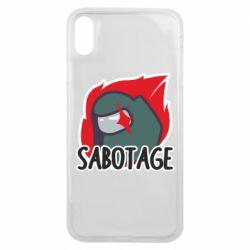 Чохол для iPhone Xs Max Among Us Sabotage