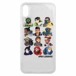Чохол для iPhone Xs Max Apex legends heroes