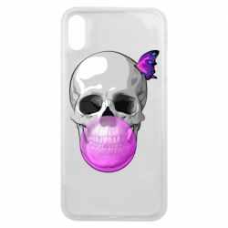 Чохол для iPhone Xs Max Butterfly on the skull